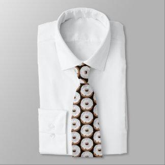 Laço telhado rosquinha congelado baunilha gravata