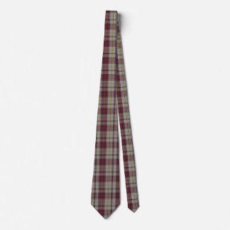 Laço tradicional do pescoço da xadrez do vestido gravata