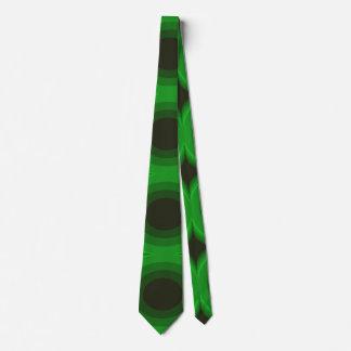 Laço verde retro gravata