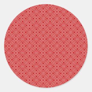 Laço vermelho adesivo