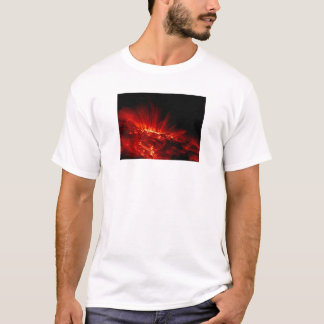 Laços da mancha solar na camisa ultravioleta