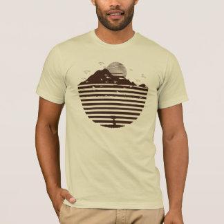 Lado da montanha camiseta
