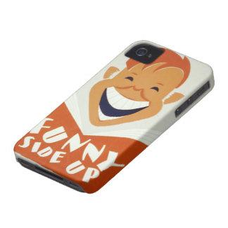 Lado engraçado acima do caso capinhas iPhone 4