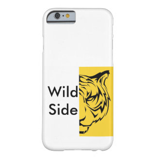 Lado selvagem - tigre capa barely there para iPhone 6