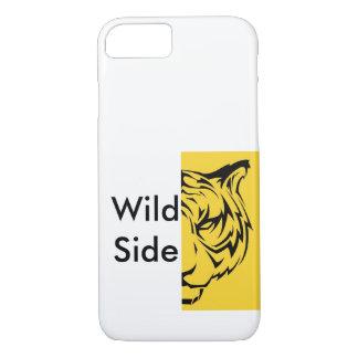 Lado selvagem - tigre capa iPhone 7