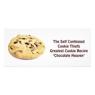 Ladrão confessado auto do biscoito! - Cartão da re 10.16 X 22.86cm Panfleto