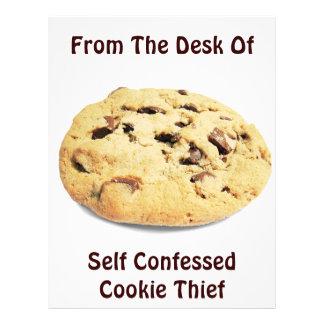 Ladrão confessado auto do biscoito! - Insecto do e Flyer 21.59 X 27.94cm