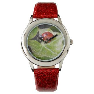 Ladybug joaninha eWatsch relógio de pulso