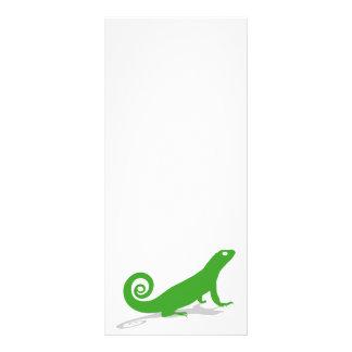 Lagarto verde 10.16 x 22.86cm panfleto