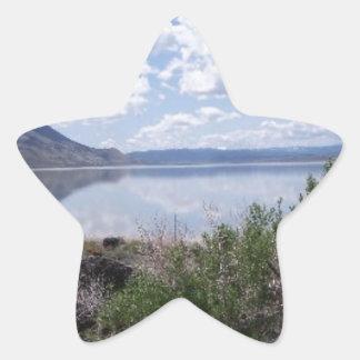 Lago Abert outback de Oregon Adesito Estrela
