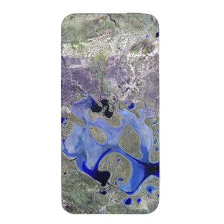 Lago Carnegie Landsat 7 Bolsinha De Celular