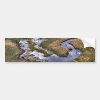 Lago dam do castor adesivos