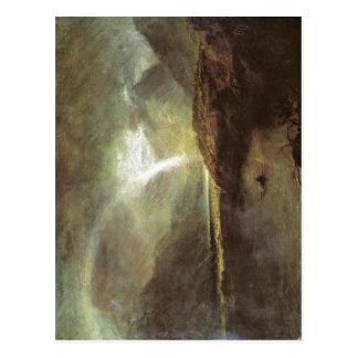 Lago do cuttermere da descrição sumária, com o par cartoes postais