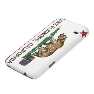 Lago Elsinore flag do estado de Califórnia Capas Par Galaxy S5