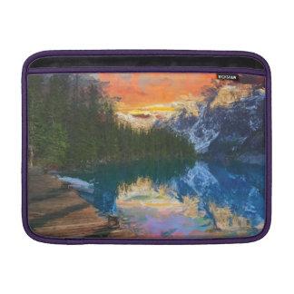 Lago forest bolsa de MacBook air