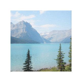 Lago Hector Impressão Em Tela