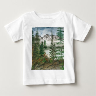 Lago jackson Hole Jenny Camiseta Para Bebê