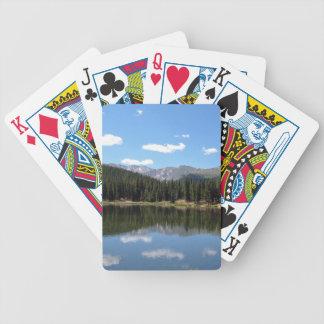 Lago Mt Evans Colorado echo Cartas De Baralho