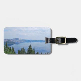 Lago Oregon crater Etiqueta De Bagagem