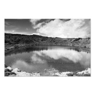 Lago pique de Pau Impressão De Foto