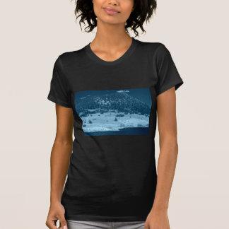 Lago preto e branco south Park Tshirts