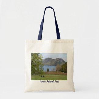 Lagoa de Jordão, parque nacional do Acadia Sacola Tote Budget