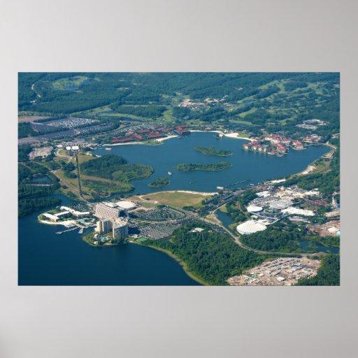 Lagoa de sete mares - central do transporte! impressão