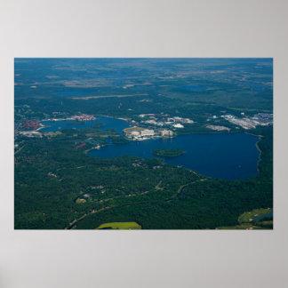 Lagoa de sete mares & lago bay - um lugar mágico! poster