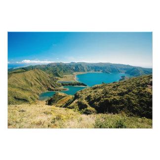 Lagoa faz Fogo, Açores Impressão De Foto