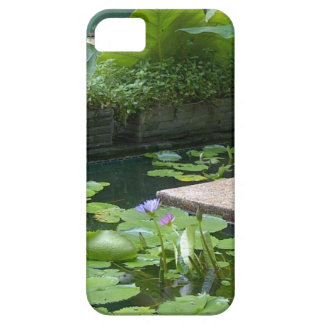 Lagoa tranquilo do lírio capas para iPhone 5