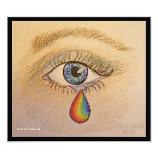Lágrima do orgulho de Orlando Foto