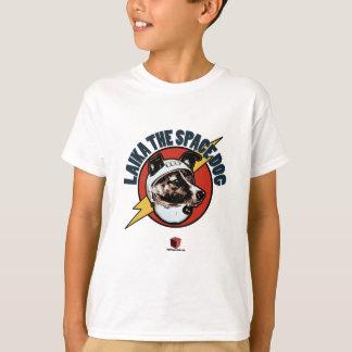 Laika o cão do espaço: T-shirt dos miúdos Camiseta
