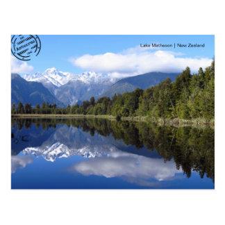 Lake Matheson (Nova Zelândia cartão postal)