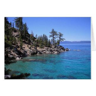 Lake Tahoe Cartão Comemorativo