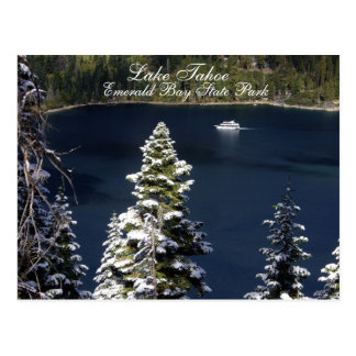 Lake Tahoe - cartão esmeralda do parque estadual