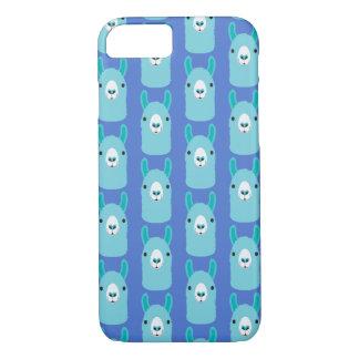 Lama do azul das capas de iphone de Apple