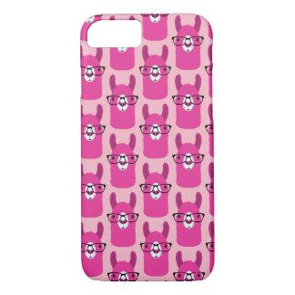 Lama do rosa das capas de iphone de Apple