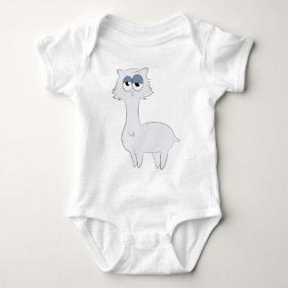 Lama mal-humorado do gato persa body para bebê