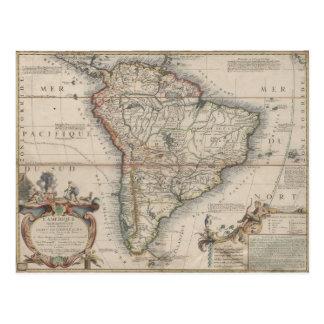 L'Amerique Meridionale (1689) Cartão Postal