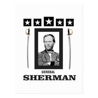 lâmina dobro Sherman cw Cartão Postal