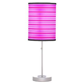 Lâmpada cor-de-rosa do impressão do estilo