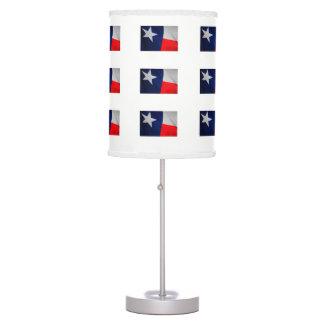Lâmpada da bandeira do estado de Texas