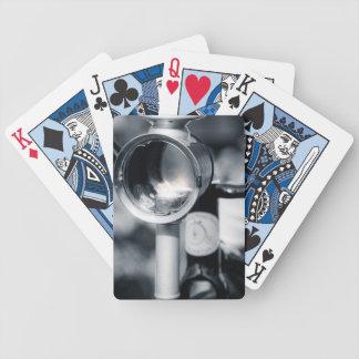 Lâmpada da cabeça do Lit do Farthing da moeda de Baralhos De Poker