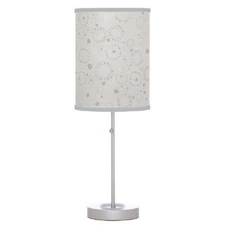 lâmpada da textura dos pontos
