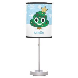 Lâmpada de Emoji do tombadilho da árvore de Natal