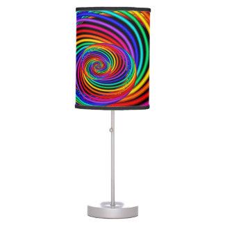 Lâmpada de espiralamento do Fractal do arco-íris