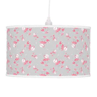 Lâmpada de pendente da lâmpada do amor do flamingo