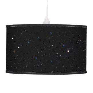 Lâmpada de pendente da poeira de estrela