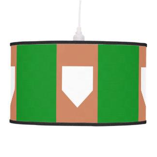 lâmpada de pendente do homeplate