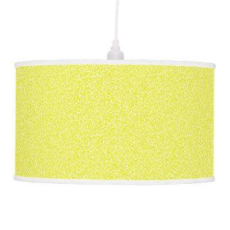 Lâmpada de pendente salpicada do limão